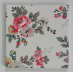 Ceramic Wall Tiles Made With Cath Kidston Kingswood Rose Ivory